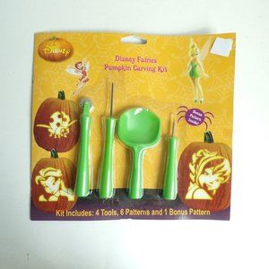 Disney Fairies Halloween Pumpkin Carving Kit Bugs
